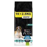 PRO PLAN Dog Adult Large Rob.Sens.Dig.Lamb 14+2,5 kg zdarma