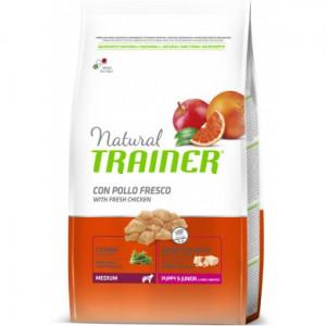 Trainer Natural Medium Puppy & Junior Kuře 12 kg