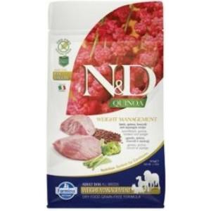 N&D GF Quinoa DOG Weight Mngmnt Lamb & Broccoli 800 g
