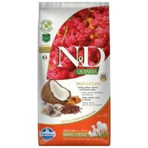 N&D GF Quinoa DOG Skin&Coat Herring & Coconut 7 kg