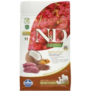 N&D GF Quinoa DOG Skin&Coat Venison & Coconut 800 g