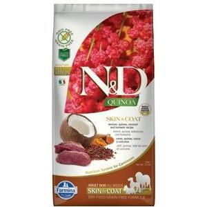 N&D GF Quinoa DOG Skin&Coat Venison & Coconut 7 kg