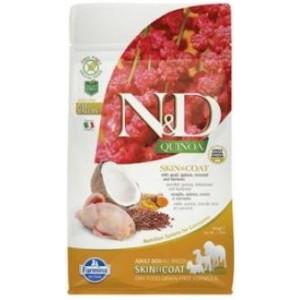 N&D GF Quinoa DOG Skin&Coat Quail & Coconut 800 g