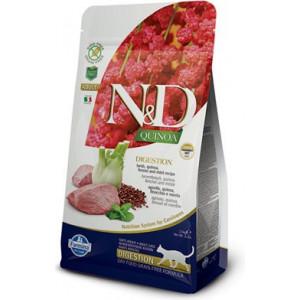 N&D GF Quinoa CAT Digestion Lamb & Fennel 300 g
