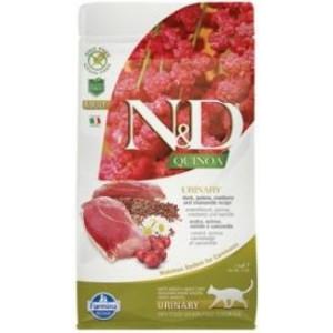 N&D GF Quinoa CAT Urinary Duck & Cranberry 1,5 kg