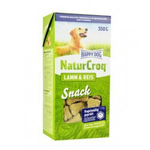Happy Dog pochoutka Natur Snacks Lamm&Rice 350 g