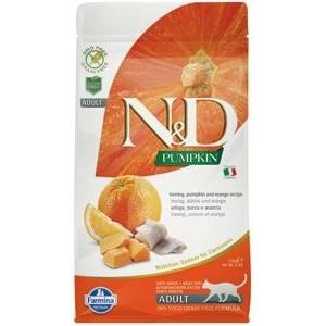N&D GF Pumpkin CAT Herring & Orange1,5 kg