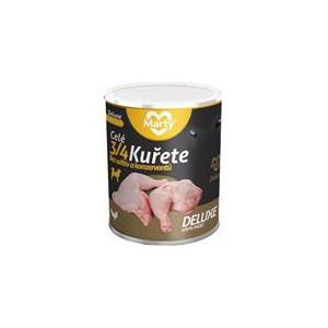 MARTY konz. pro psy DeLuxe-celé 3/4 kuřete 800 g