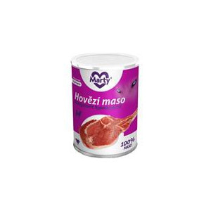 MARTY konz. pro psy Monoprotein hovězí 400 g