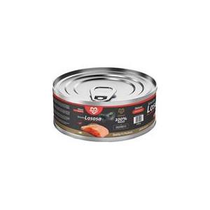 MARTY konz. pro kočky DeLuxe-kousky lososa 100 g