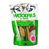 Pochoutka dentální Woolfies Dental Brush S 200g