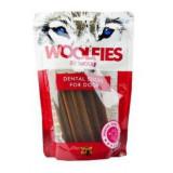 Pochoutka dentální Woolfies Dental Sticks S 200 g