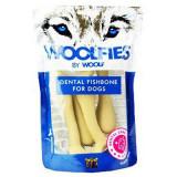 Pochoutka dentální Woolfies Dental Fishbone M 200 g