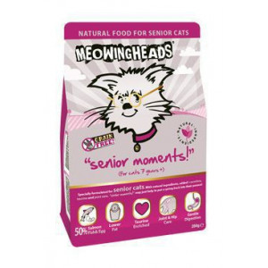 MEOWING HEADS Senior Moments 250 g