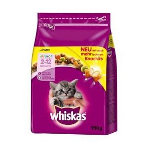 Whiskas Dry Junior s kuřecím masem 950 g
