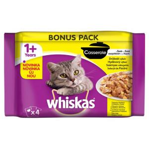 Whiskas kapsa Casserole drůbeží menu 4x85 g