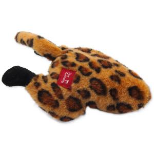 Hračka DOG FANTASY Silly Bums leopard 26 cm 1ks