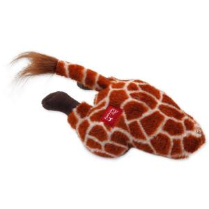 Hračka DOG FANTASY Silly Bums žirafa 30 cm 1ks