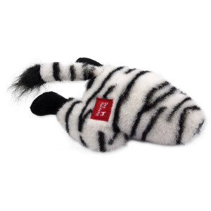Hračka DOG FANTASY Silly Bums zebra 28 cm 1ks