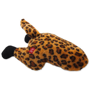 Hračka DOG FANTASY Silly Bums leopard 41 cm 1ks