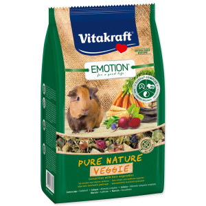 VITAKRAFT Emotion Veggie pro morčata 600g