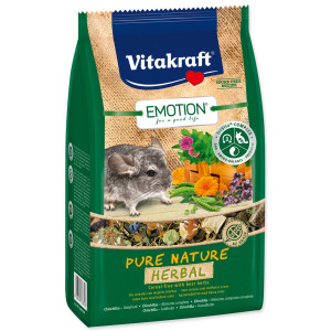 VITAKRAFT Emotion herbal činčila 600g