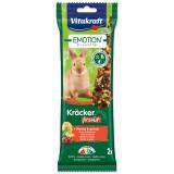 Tyčinky VITAKRAFT Emotion Kracker ovocné pro králíky 112g