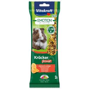 Tyčinky VITAKRAFT Emotion Kracker morče ovocné 112g