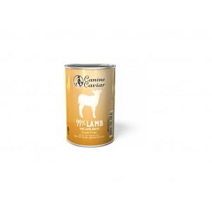 Canine Caviar konzerva jehně 375 g