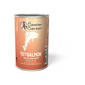 Canine Caviar konzerva divoký losos 375 g