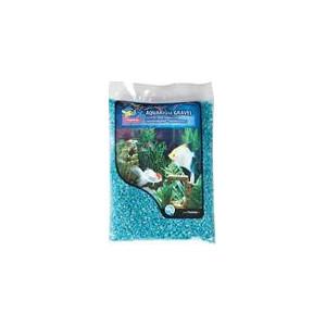 Písek akvarijní sv.modrý micro Flamingo 1 kg 2 mm