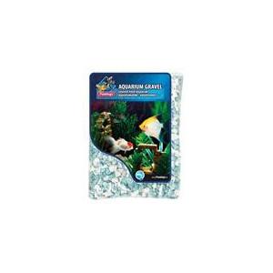 Písek akvarijní zelený mix odstínů Flamingo 900 g 6-8 mm