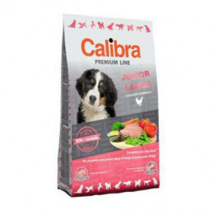 Calibra Dog NEW Premium Junior Large 12 kg + 3 kg ZDARMA