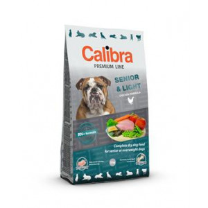 Calibra Dog NEW Premium Senior&Light 12 kg + 3 kg ZDARMA