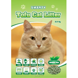 Podestýlka Smarty Tofu Cat Litter-Green Tea 6 l