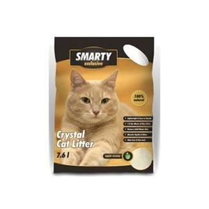 Podestýlka Smarty Exclusive silikát zel. jablko 7,6l