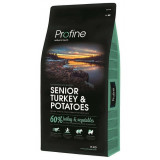 Profine NEW Dog Senior Turkey & Potatoes 15 kg + 3kg Zdarma