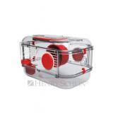 Klec křeček Rody 3 MINI červená 33x21x18cm Zolux