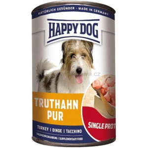 Happy Dog konzerva Truthahn Pur krůtí 400 g