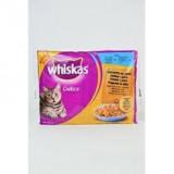 Whiskas kapsa Delice vařené v páře Ryba 4pack 85g