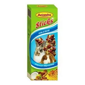 Avicentra tyčinky velký hlodavec - ořech+med 2ks