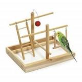 Hračka pták Hřiště 28x23x23 cm dřevo KAR 1ks