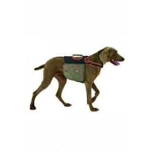 Batoh pro psy XL zelená/oranž. reflexní KAR 1 ks
