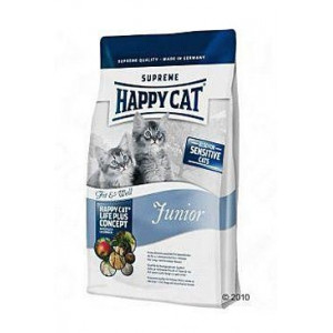 Happy Cat Supr. Junior Fit&Well 300 g kotě,ml.kočka