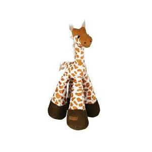 Hračka pes Žirafa pískací plyšová 33 cm TR