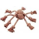 Hračka pes Chobotnice 15x15 cm bavlna KAR 1 ks