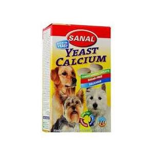 Sanal pes Calcium s vitamíny 100 tbl