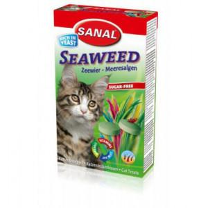 Sanal kočka Seaweed s mořskou řasou a vit.. 60 g/100 tbl