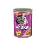 Whiskas konzerva telecí a krůta 400g