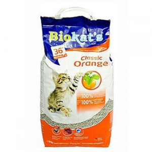 Gimpet kočka Podestýlka hrudk. Biokat´s Orange 10 kg